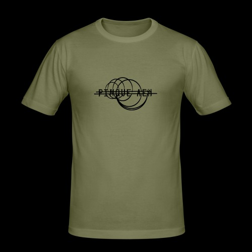 Pinque AEM NERO - Maglietta aderente da uomo