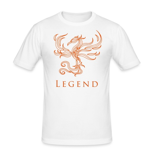 MC Legend Logo - Männer Slim Fit T-Shirt