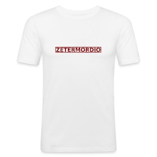 ZETERMORDIO Grunch - Männer Slim Fit T-Shirt