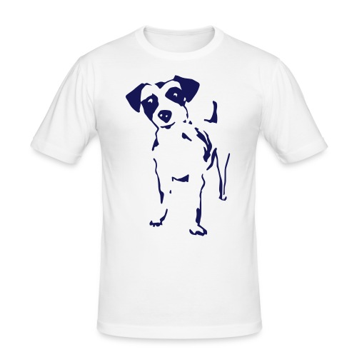 Jack Russell Terrier - Männer Slim Fit T-Shirt