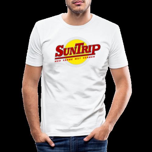 SunTrip originalet - Slim Fit T-shirt herr