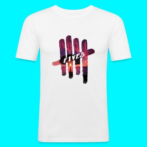 fives tree - T-shirt près du corps Homme