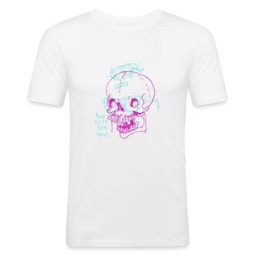 TOO CUTE FOR YOU - Obcisła koszulka męska