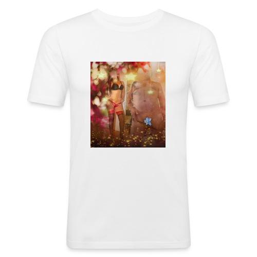 herbst Sinfonie - Männer Slim Fit T-Shirt