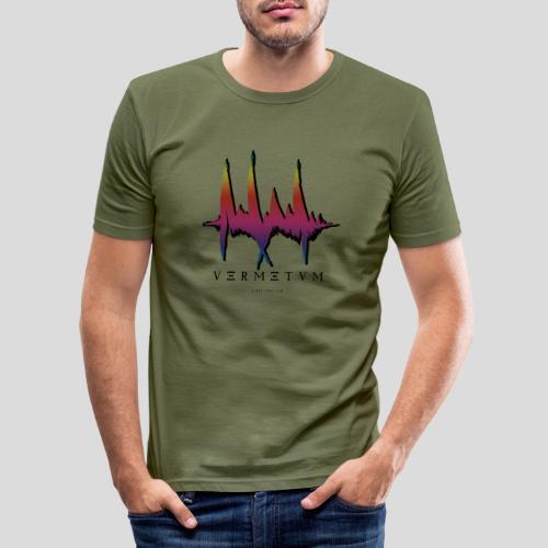 VERMETUM BLACK EDITION - Männer Slim Fit T-Shirt