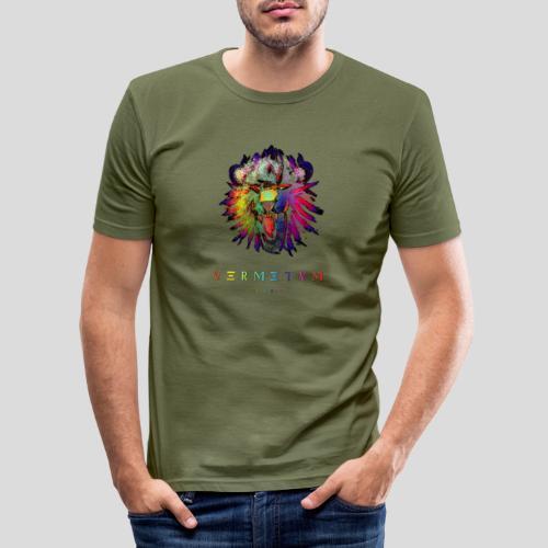 VERMETUM STRENGTH EDITION - Männer Slim Fit T-Shirt