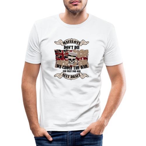 Cross the Bar2 - Men's Slim Fit T-Shirt