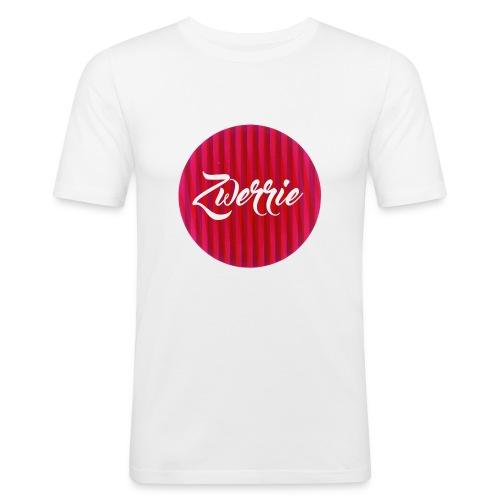 zwerrie-logo-png - Mannen slim fit T-shirt