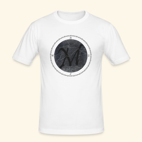 Montis logo2 - Slim Fit T-shirt herr