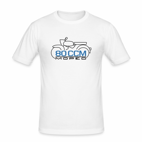Moped Sperber Habicht 80 ccm Emblem - Men's Slim Fit T-Shirt
