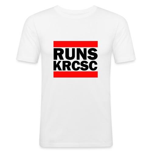KRCSC logo (black) - Men's Slim Fit T-Shirt
