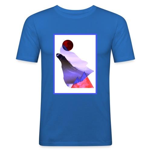 Måne Ulv - Laurids B Design - Herre Slim Fit T-Shirt