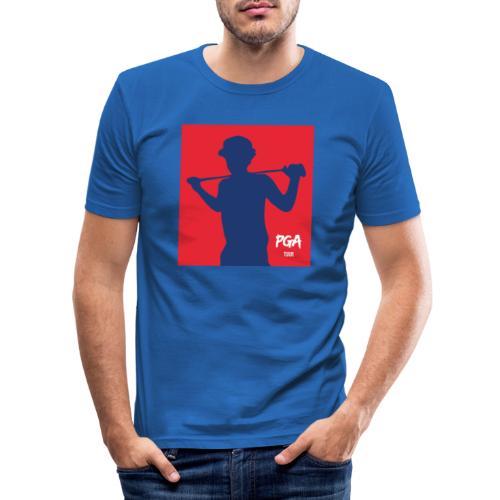 PGA newbie - Miesten tyköistuva t-paita