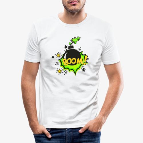 Serie Animaciones de los 80´s - Camiseta ajustada hombre