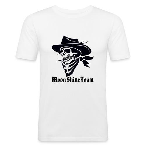 MoonShineTeam - Männer Slim Fit T-Shirt