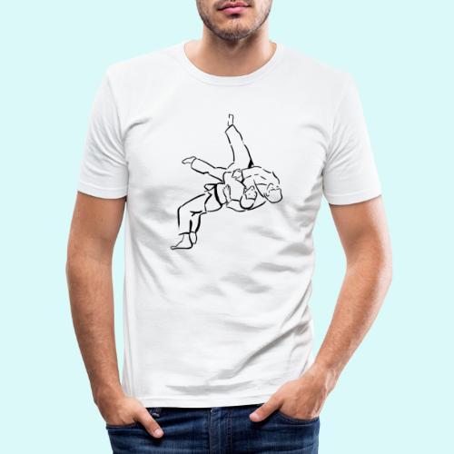 judo - T-shirt près du corps Homme