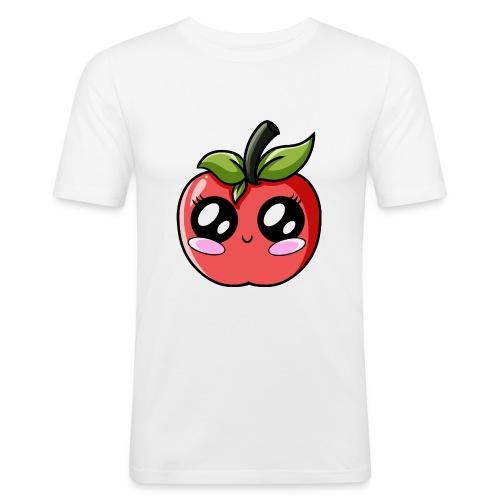Pomme Kawaii - T-shirt près du corps Homme