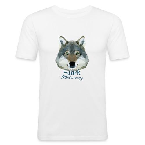 Stark wolf - Maglietta aderente da uomo