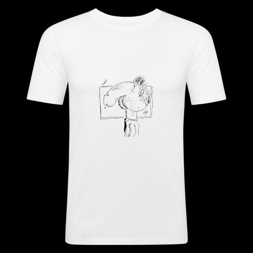 dickhead - Mannen slim fit T-shirt