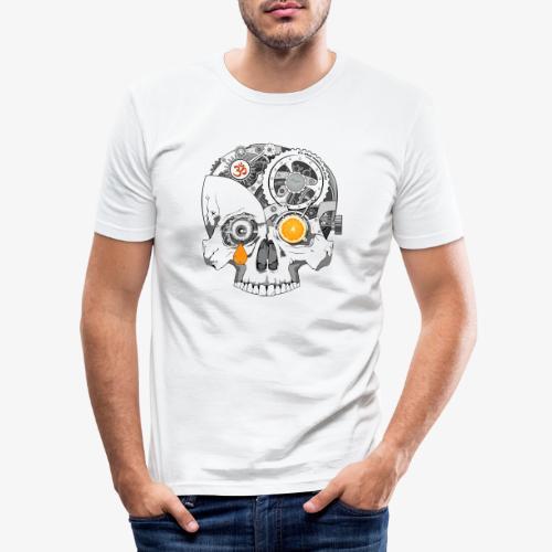 TickTock - Men's Slim Fit T-Shirt