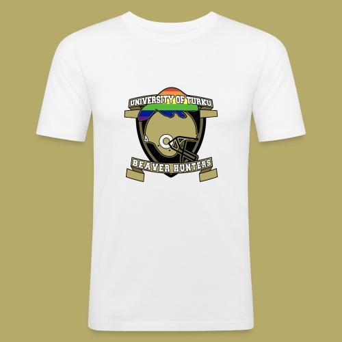 Beaver Hunters - Miesten tyköistuva t-paita