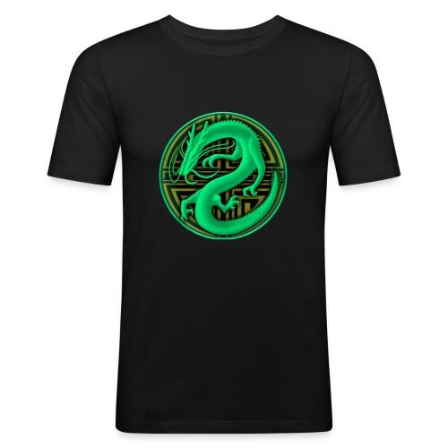 logo mic03 the gamer - Maglietta aderente da uomo