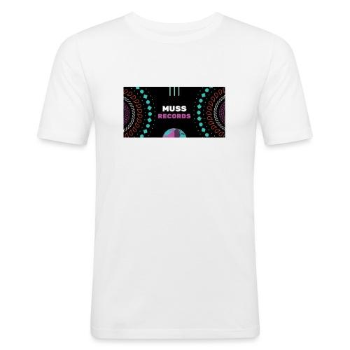 Muss_records_1_-1- - T-shirt près du corps Homme