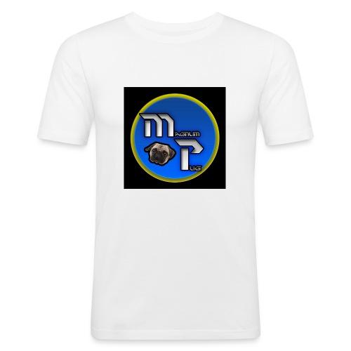 MagnumPug channel - Men's Slim Fit T-Shirt