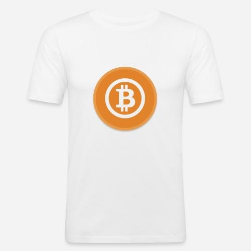 Bitcoin - Men's Slim Fit T-Shirt