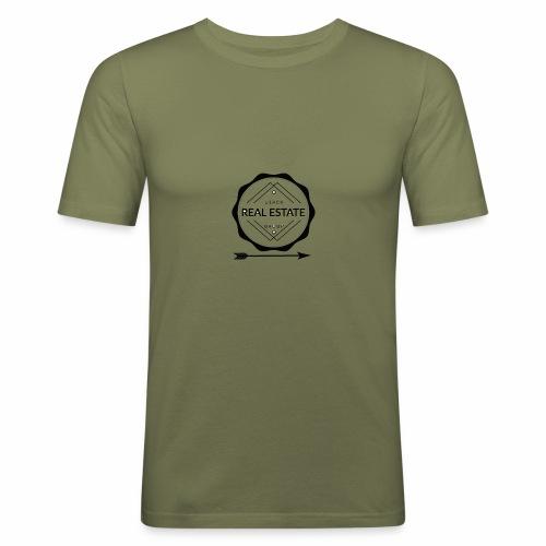 REAL ESTATE. - Camiseta ajustada hombre