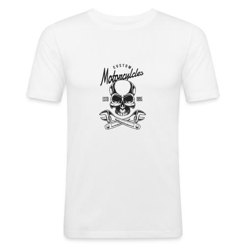 Totenkopf - Männer Slim Fit T-Shirt