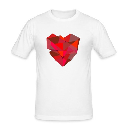 Poly-Heart - Camiseta ajustada hombre