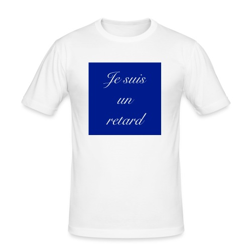 Je suis un retard - Slim Fit T-shirt herr