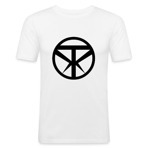 Tridex Logo Black - Men's Slim Fit T-Shirt