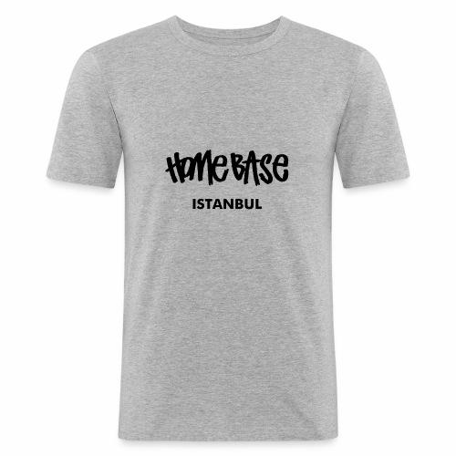 Home City Istanbul - Männer Slim Fit T-Shirt