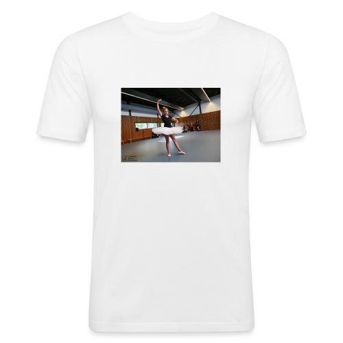 mok - Mannen slim fit T-shirt