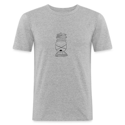 lampada olio oil lamp - Maglietta aderente da uomo