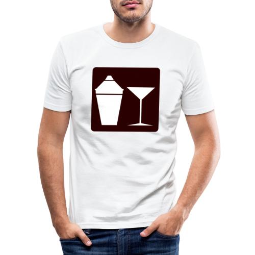 Alkohol - Männer Slim Fit T-Shirt