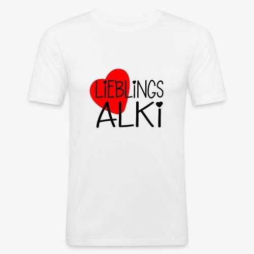 Lieblings-Alki Geschenkidee Valentinstag - Männer Slim Fit T-Shirt