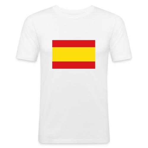 vlag van spanje - slim fit T-shirt