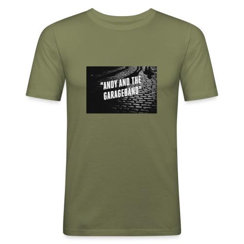 Black and White - Slim Fit T-skjorte for menn