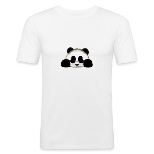 panda - Men's Slim Fit T-Shirt