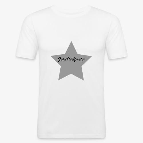 Gesichtselfmeter - Männer Slim Fit T-Shirt
