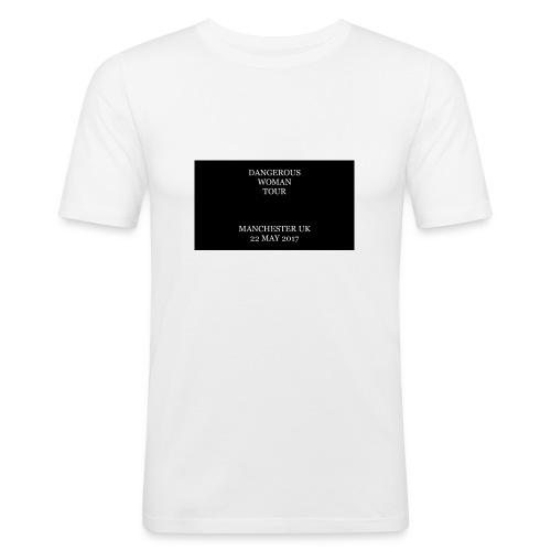 Dangerous Woman Tour Merch - Men's Slim Fit T-Shirt