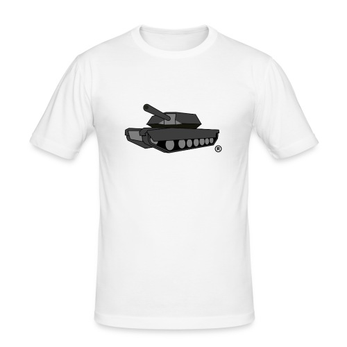 GREY TANK png - Men's Slim Fit T-Shirt