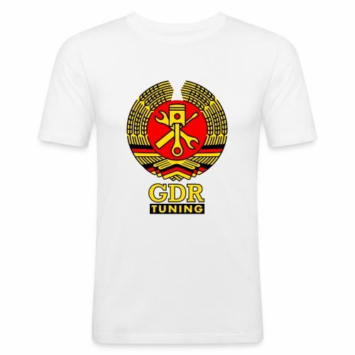 GDR Tuning Coat of Arms 3c - Men's Slim Fit T-Shirt