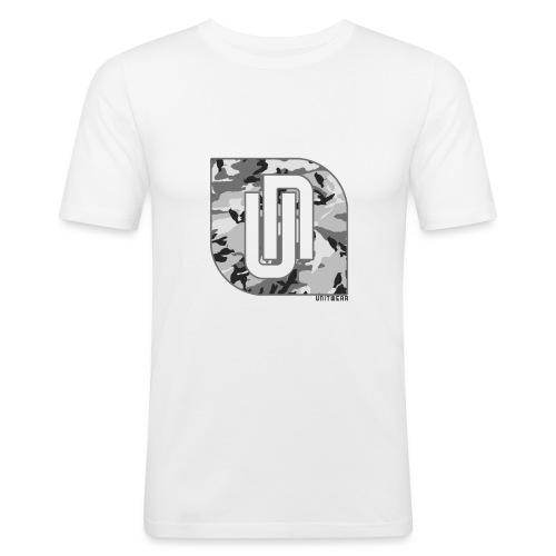 Unitwear – Camo UN Tshirt - Mannen slim fit T-shirt