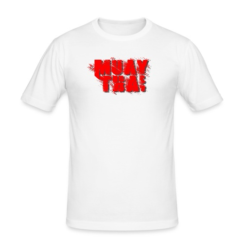 Muay Thai - Men's Slim Fit T-Shirt