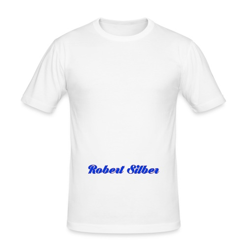Robert Silber - Männer Slim Fit T-Shirt