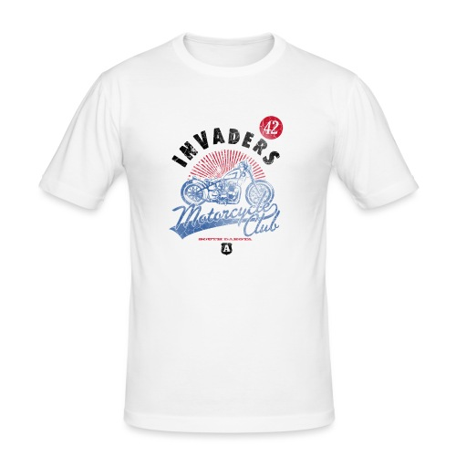 DownloadT-ShirtDesigns-com-2121724 Invaders - Men's Slim Fit T-Shirt